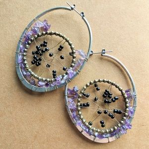 Jewelry - Boho wire earrings